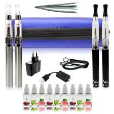 E-Zigarette Neu 1100mAh ezigarette Komplett Doppel Set e-Liquid eShisha ego CE4