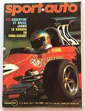 SPORT AUTO N°134 (MARS1973) AVEC POSTER PORSCHE CARRERA RS , F1