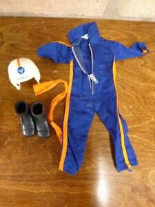 nice vintage 1970's Action Man Helicopter Pilot outfit