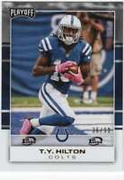 2017 Panini Playoff 1st Down Parallel /99 #37 T.Y. Hilton Colts