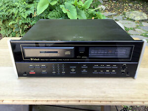 McIntosh MCD7007 Compact Disc Player 1988 vintage needs repair CD rare