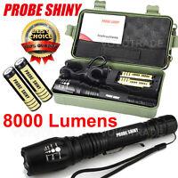 G700 X800 CREE XM-L2 T6 LED Zoom Tactical Military Flashlight Super Torch Lot