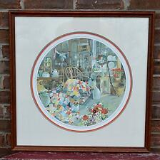 Circle of Antiquity Carolyn Blish Limited Edition Print 543/1000 Framed Matted