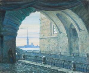 Mstislav Dobuzhinsky Scene From The Tchaikovsky Giclee Paper Print Poster