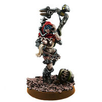 Mechanic Adept Female Tech Priest Servo-Arm MK-V Wargame Exclusive WE-MA-003