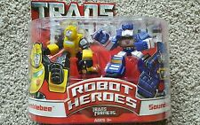 Hasbro USA Transformers Robot Heroes - Transformers Bumblebee & Soundwave