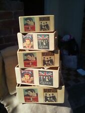 Fantastic retro style wooden classic Music Icons themed storage box in 5 sizes.