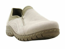 Eddie Bauer Womens Size 8 Suede Moch Leather Birch Bay Shoe, Rainy Day/Fossil