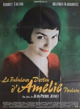 AMELIE POULAIN - STYLE A - TAUTOU / JEUNET - ORIGINAL LARGE FRENCH MOVIE POSTER