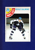 Borje Salming HOF 1978-79 O-PEE-CHEE OPC Hockey #240 (NM+) Toronto Maple Leafs