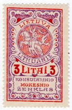 (I.B) Lithuania Revenue : Consular 3L