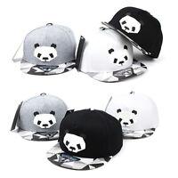 Bambusbär Panda Kinder Jungen Mädchen Mütze Baseball Cap Kappe Hüte Snapback Hut
