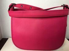 Coach 55298 Saddle Bag In Glovetanned Leather  Cerise NWT