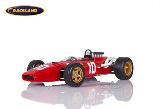 Ferrari 312 V12 F1 GP Deutschland 1966 Mike Parkes, Tecnomodel 1:18, TM18163D