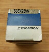 Brand New THOMSON SSEM25WW LINEAR BEARING ***Ships from the USA***