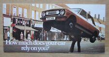 TOYOTA RANGE 1976 UK Mkt Sales Brochure - Crown Celica Carina Corolla 2000 1000