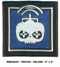 Rainbow Six Operator Vel-Kro Patch - Twitch - Rbsix63V