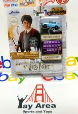 Harry Potter Nanos 1959 Ford Anglia and Purple Knight Double Decker Bus by Jada
