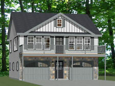 30x32 House -- 2 bedroom 1.5 Bath -- 961 sqft -- PDF Floor Plan -- Model 1D