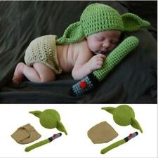 Newborn Baby Girls Boys Crochet Knit Costume Photography Photo Props Outfit