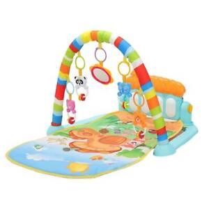 Friends Kick 'n' Play Newborn Baby Playmat, Play Gym, Musical Activity Gym,0-36