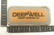 Oil Industry DEEPWELL Advertising Patch (Rig, Equipment, Transport & More) 00WY