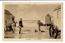 CPA-Carte Postale -Belgique - Oostende - Les Cabines  VM6025