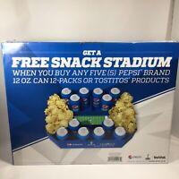 SuperBowl XLIX Pepsi Tostitos Snack Stadium Serving Tray Promotional Promo.