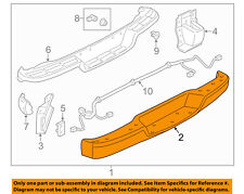 GM OEM Rear-Bumper 25962241