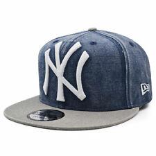 New York Yankees RUGGED XL LOGO Snapback 9Fifty MLB Hat - Navy/Gray