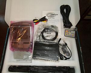 """New TFT Flip Down 5.6"""" LCD Monitor & Tuner Kit eV-5.6TKF Mobile Car Video"""