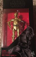 """STAR WARS Rogue One Black Series 6"""" 029 C-3PO Red Arm Resistance Base FIGURE NEW"""