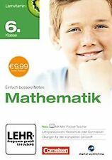 Lernvitamin - Mathematik 6. Klasse (für Realschule u...   Software   Zustand gut