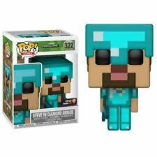 Funko Pop! Mojang Games: Minecraft - Steve in Diamond Armor (322) Figura Bobble Head