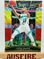 NBA Kemba Walker Charlotte Hornets 2018-19 Select Tri Colour Prizm Card #88