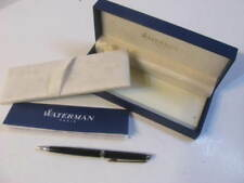 Waterman Hemisphere Ballpoint Advertising Pen, Medium, Black Lacquer