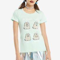Pusheen The Cat PUSHEEN FAVORITE THINGS Girls T-Shirt NWT Licensed & Official