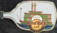Hard Rock Cafe LOUISVILLE 2015 Derby Glass Bottle Steamboat PIN on CARD #84178