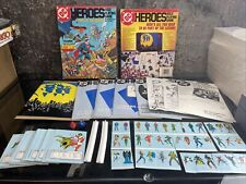 "Vintage DC Heroes RPG Box Set 1985 Mayfair Games ""Be Part Of The Legend!"""