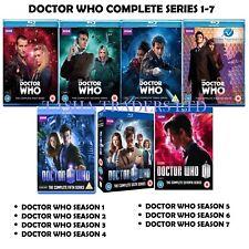 DOCTOR WHO - Seasons 1-7 Complete Series 1 2 3 4 5 6 7 NEW Blu-Ray UK Region B