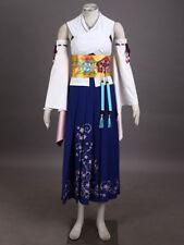 Final Fantasy X 10 Yuna Cosplay Costume Custom Made
