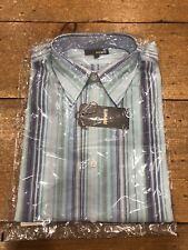 Peter Werth Striped Casual Shirt - Medium (3) (UNOPENED)