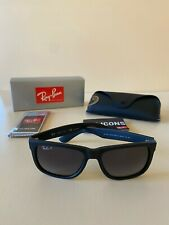 Ray-Ban Classic Justin Polarized Black / Grey Gradient Lens RB4165 622/T3