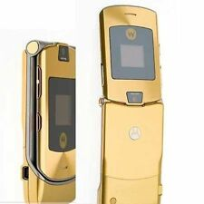 Motorola RAZR V3i - Gold  Factory (Unlocked) Mobile Phone