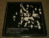 The Concert Choir Oral Roberts University~RARE Private Religious Christian~VG++