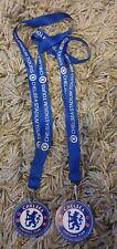 2 Chelsea FC Stadium Tour Lanyards & Badges