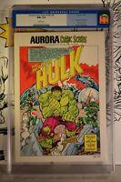 Aurora Comic Scenes #184 CGC 9.6 Hulk 1974 incredible low population 1:69 graded