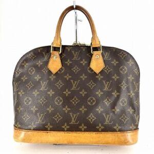 Louis Vuitton Alma Handbag M51130 Monogram #DW1-352