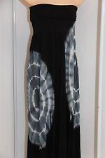 New Raviya Swimsuit Bikini Cover Up  Long Dress Skirt Black Size M Strapless