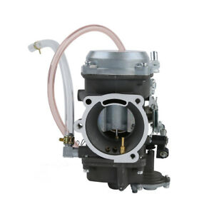 Aluminum Twin Cam Carburetor Carb Fit For Harley Fatboy Dyna Heritage Softail
